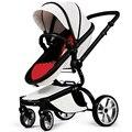 Carrinho de bebê de Alta Paisagem carrinho de bebê de Quatro Rodas Carrinho de Bebê Dobrado Two-way Poussette Bebek Arabas Kinderwagen Carrinho de Bebê Bebe