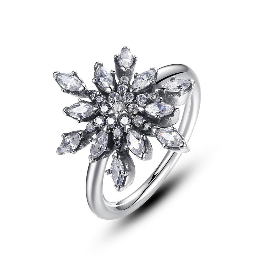 pandora anello fiocco di neve