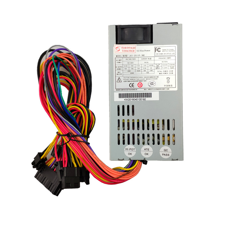 T.F.SKYWINDINTL 250W IPC 1U Flex Small Power Supply 250W IPC Power Supply 250W PSU For Server Ultra-quiet 1u ITX power supply