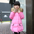 Fashion Long Girls Winter Coat Thick Girls Kids Winter Jackets For Teenage Girls Parka Doudoune Enfants Manteau Fille Hiver