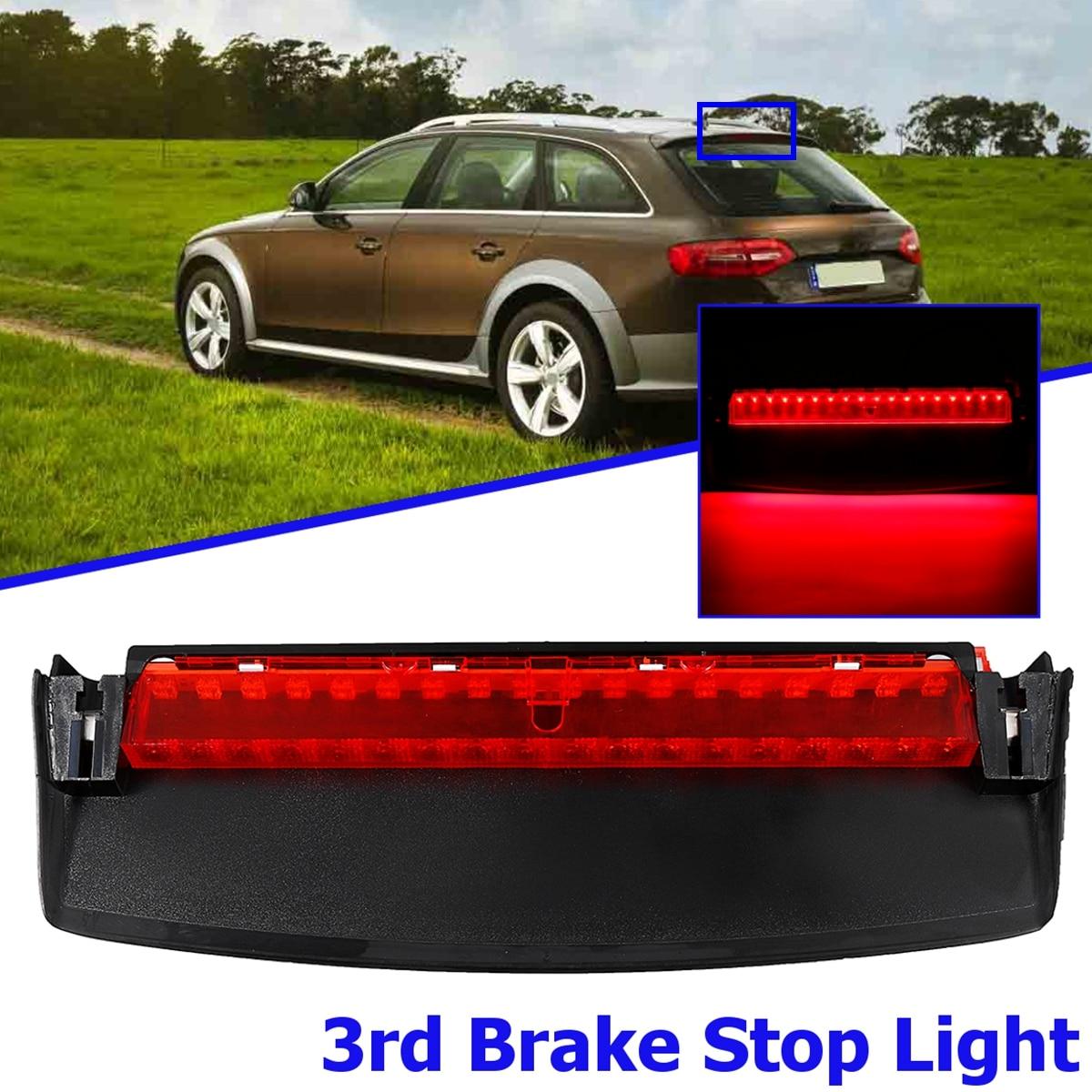 Rear LED Third High Brake Mount Stop Lamp Light For Audi