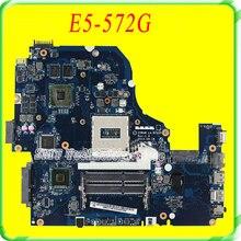 NBMQ011001 Carte Mère pour Acer Aspire E5-572G Z5WAW LA-B702P/w GT840M vidéo carte 100% travail