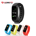 Lemfo L30t Color screen Smart Band Heart Rate Monitor Pedometer Sleep Fitness Tracker for Andriod IOS Phone