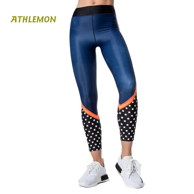 5af493fe8a25b Women Leggings Sport Fitness Patchwork Full Length Lulu Plus Size Lemon  Running Pants Tights Gym Yoga Pants Women Elastic