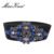 Vestido elástico de la Correa para Las Mujeres Cinturones Diseñador de Moda Cinturón Elástico Ancho Bling Cristales y Diamantes de Imitación