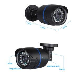 Image 2 - Hamrolte كاميرا تلفزيونات الدوائر المغلقة سوني IMX307 الاستشعار Ultralow الإضاءة نايتفيجن 2.8 مللي متر زاوية واسعة عدسة 2.0MP 1080P في الهواء الطلق كاميرا ahd