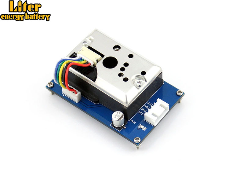 Dust Sensor Detector Module With Sharp GP2Y1010AU0F Onboard For Measuring PM2.5 Air Purifier Air Conditioner Monitor