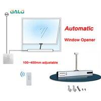 Abridor automático da janela da estufa  atuador chain controlado remoto automático da janela aberta lareira opcional|Kits de controle de acesso| |  -