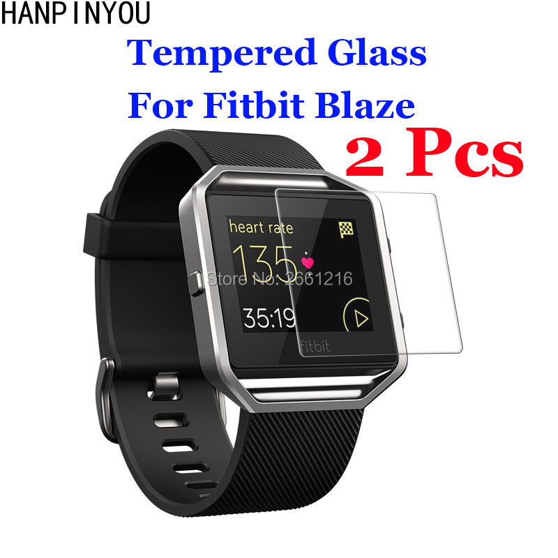 2 Pcs/Lot For Fitbit Blaze Tempered Glass 9H 2.5D Premium Screen Protector Film For Fitbit Blaze SmartWatch2 Pcs/Lot For Fitbit Blaze Tempered Glass 9H 2.5D Premium Screen Protector Film For Fitbit Blaze SmartWatch