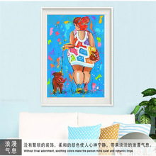 DIY Diamond Embroidery Butterfly Girl 5D  Painting Cross Stitch Mosaic Pattern Square Rhinestone Home Decor diy diamond painting full embroidery mosaic daisy butterfly square round picture of rhinestone cross stitch decor home sticker