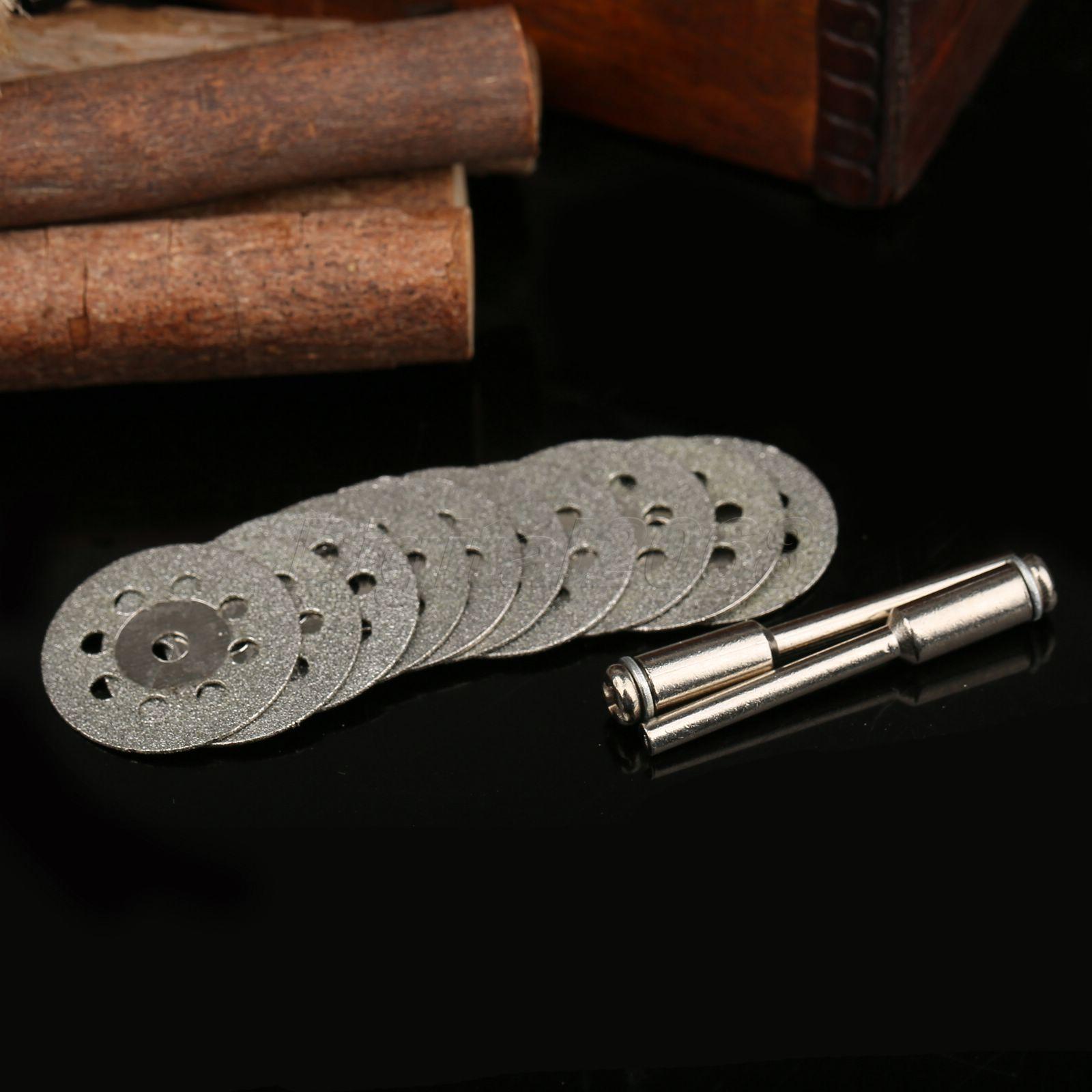 Broušení 10x22mm, kotoučová pila, řezací kotouč Dremel, - Brusné nástroje - Fotografie 2