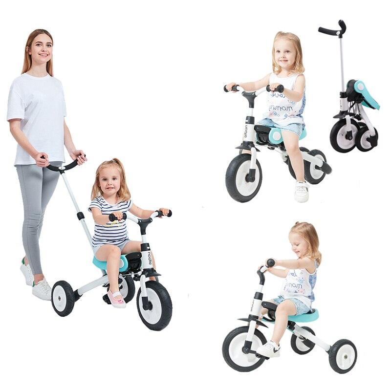 Monter sur des jouets bébé Tricycle enfants pliant vélo enfants Scooter - 2