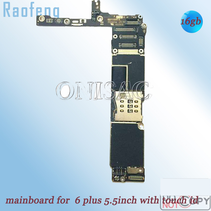 Raofeng Chips iPhone for 6-plus/Motherboard/5.5inch-well-work/Unlocked with Logic-Board title=