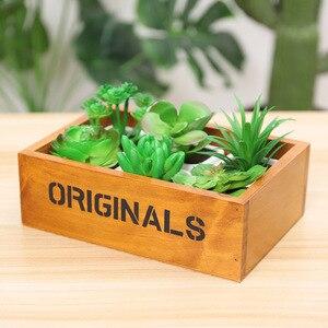 Image 5 - Jardinière en bois Style rétro