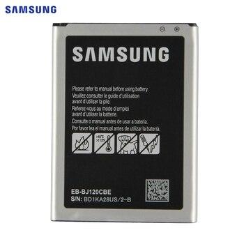SAMSUNG Orijinal Pil EB-BJ120CBE Samsung Galaxy 2016 Için Baskı J1 Express 3 J120 SM-J120F J120A J120h J120ds 2050mAh NFC