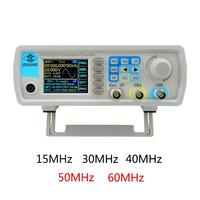 JDS6600 Series MAX 60MHz Digital Control Dual channel DDS Function Signal Generator Arbitrary Sine Waveform Frequency Meter Tool