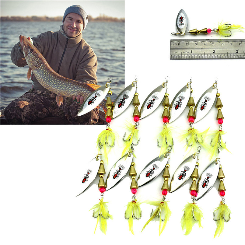 10pc Lures Fishing Bait Metal Sea Swimbait Shad Lot Baits Spoon Freshwater Fish Lure, Free shipping A3 воблеры zip baits rigge 70 a киев купить