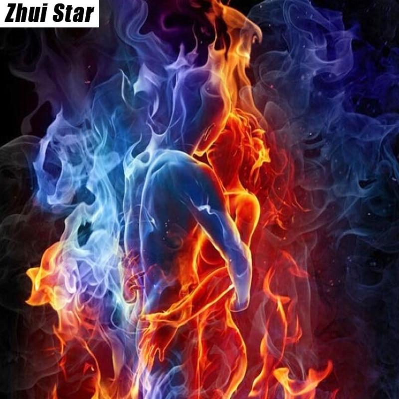 Warriors Fire And Ice Episode 4: Aliexpress.com : Buy Full Square Diamond 5D DIY Diamond