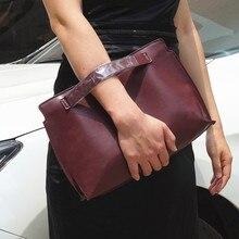 Women Clutches PU leather women envelope clutch bag