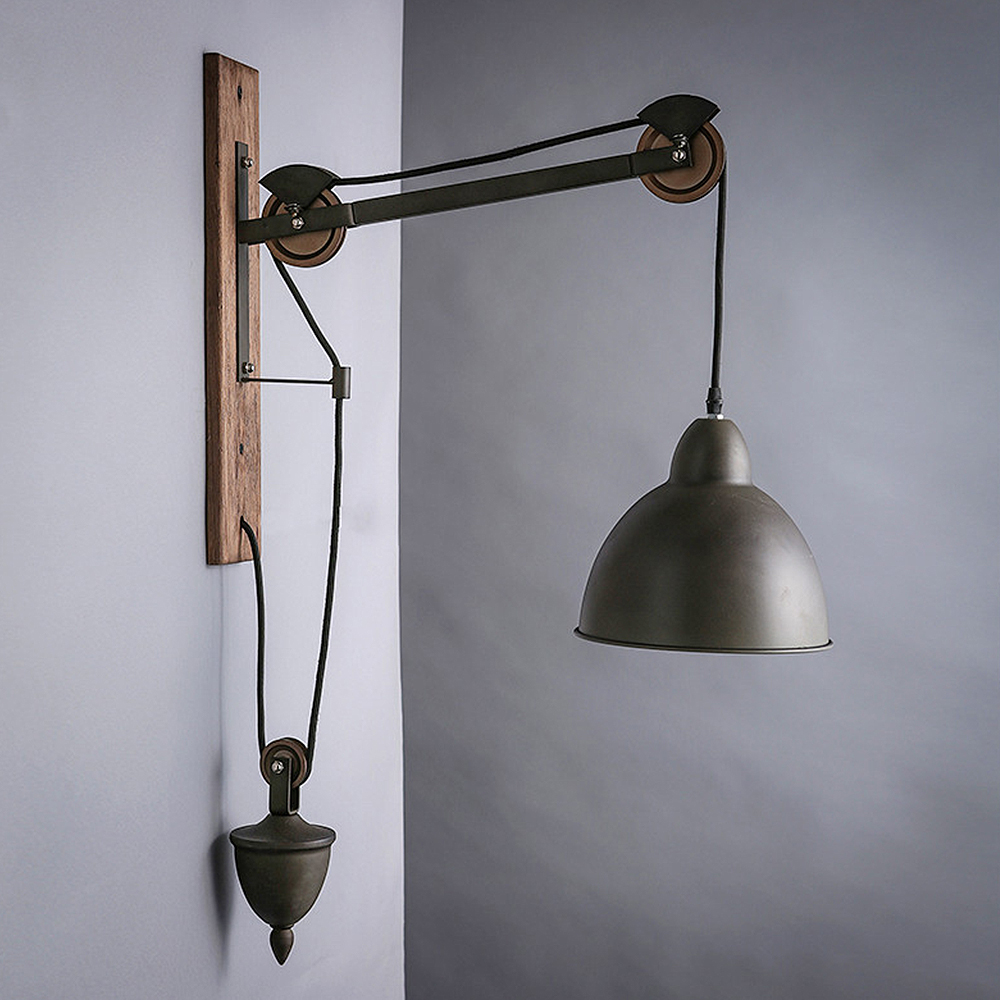 Vintage Applique Industriels Loft mur lumière Réglable Rétro lampe chambre salon restaurant couloir café décoration lampes