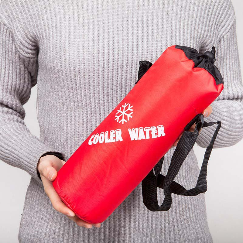 Fashion Portable Insulated Thermal Ice Cooler Bag Warmer Lunch Food Picnic Insulation Thermos Bag Bottle Bag For Man Women