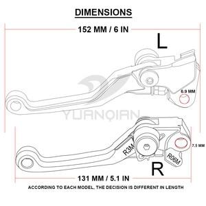 Image 3 - Leviers dembrayage de frein pivotants