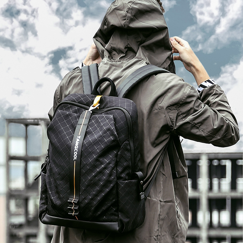 Men s Backpack Korean Casual Travel Bag Women laptop Backpacks College School bags for Teenagers boys