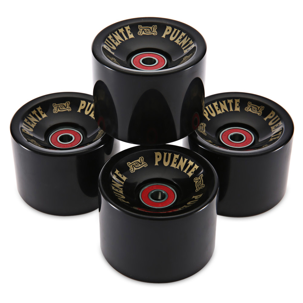 High Quality 4pcs/set 70 x 51mm Cruiser Skateboard Wheels Durable PU Wheels Longboard Cruiser Wheels with ABEC-9 Bearings