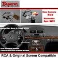 Para Mercedes Benz E W211 E280 E320 E300 E55 E63/Carro câmera de Visão traseira de Volta Até Reverter Câmera Sets/RCA & Tela Original compatível