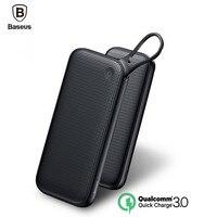 Baseus 20000mAh Portable Power Bank For Iphone Xiaomi Mobile Power Bank Dual QC3 0 USB Fast