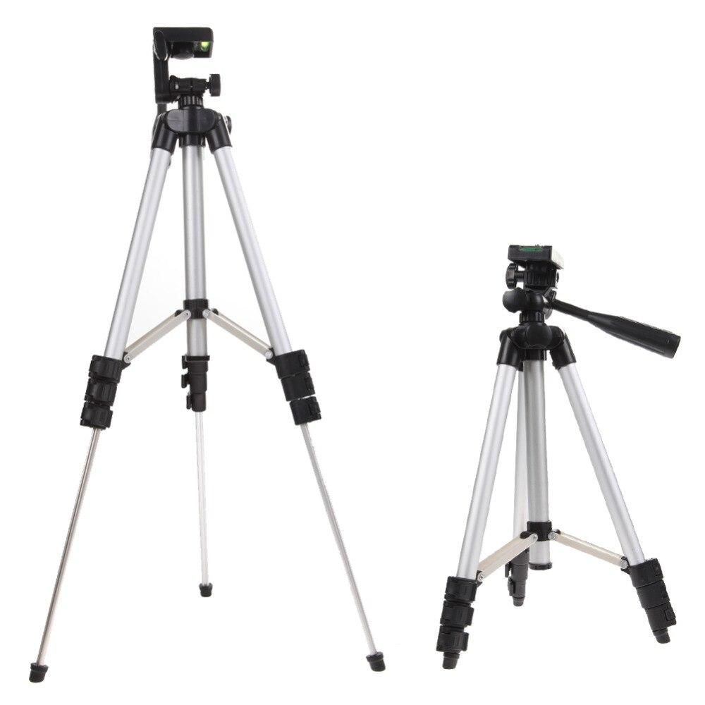 Universal cámara profesional del soporte del trípode para cámara réflex Digital de teléfono Holder trípode para Nikon/Sony/Canon cámara