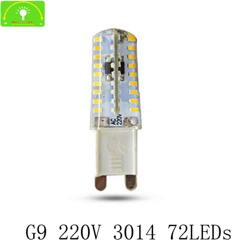 1X  Led G4 G9 E14 E12 Lamp 220V G4 Led Bulb Light  DC 12V 3-12W SMD 3014 Spotlight 360 Beam Angle Replace For Crystal Chandelier