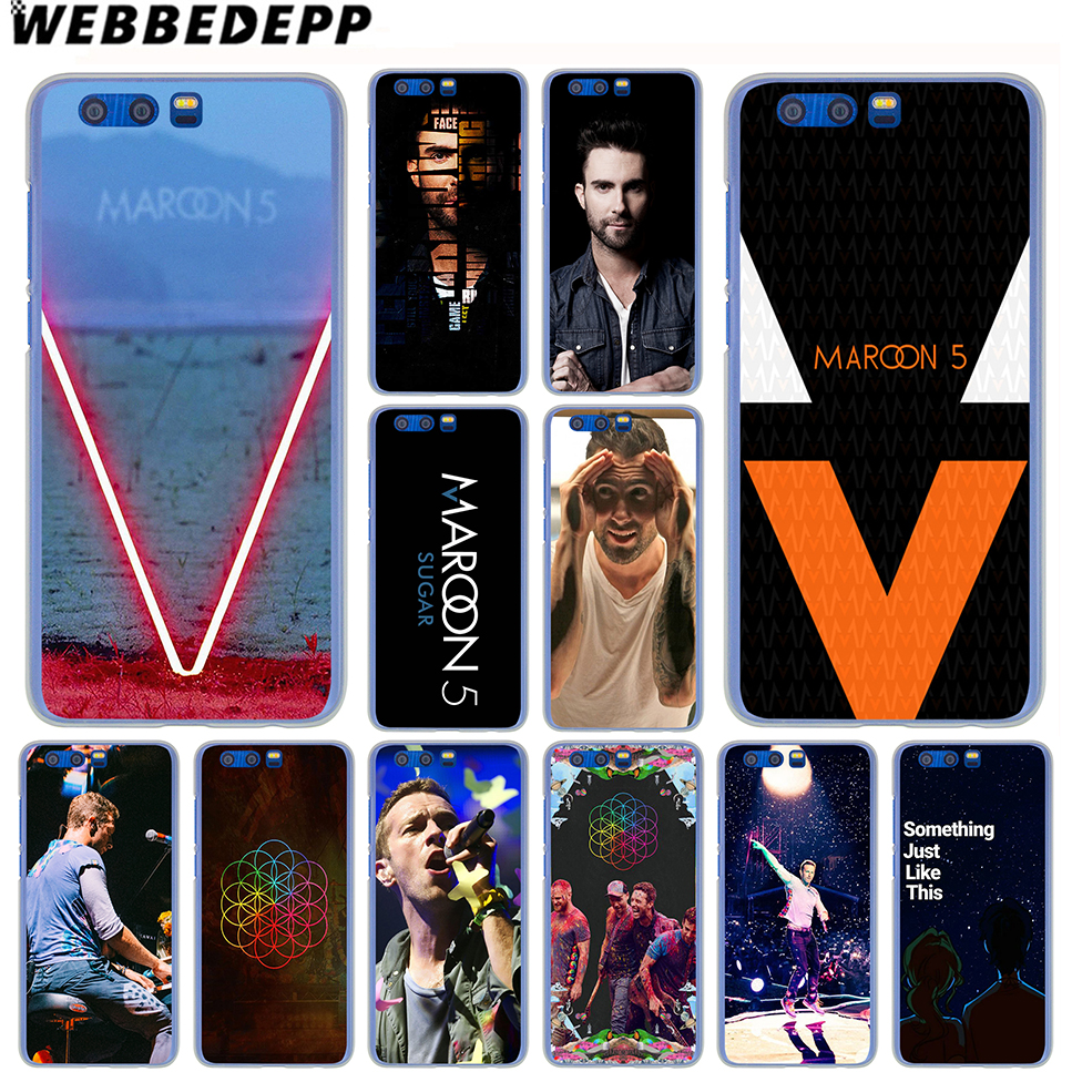WEBBEDEPP Maroon 5 Coldplay Bands Case for Samsung Galaxy J7 J5 J3 J2 J1 2018 2017 2016 2015 US EU Version Prime