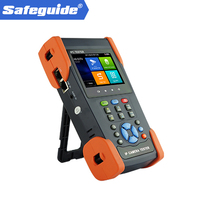 3 5 Touch Screen CCTV Tester Pro Support 4k H 265 H 264 Analog IP Camera