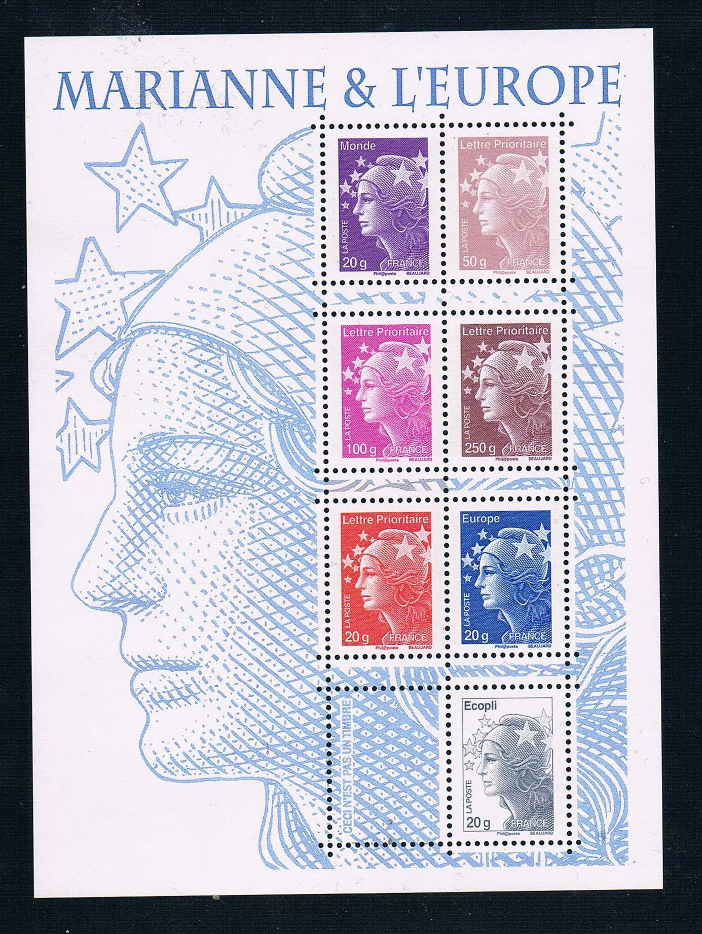 FR0831 France 2011 New postage Maria goddess stamp 1MS new 0320 поло print bar книга джунглей