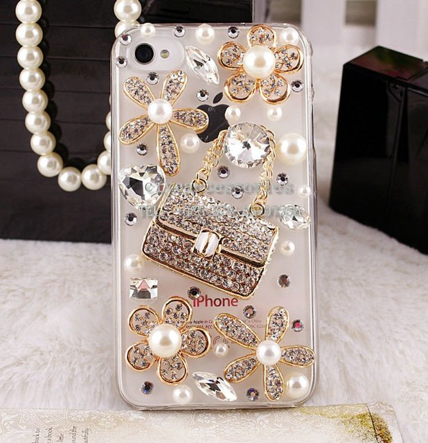 the best attitude a7401 c3c54 US $17.5  Alloy for Iphone 4/4s protective case mobile phone case perfume  bag phone back cover 135 on Aliexpress.com   Alibaba Group
