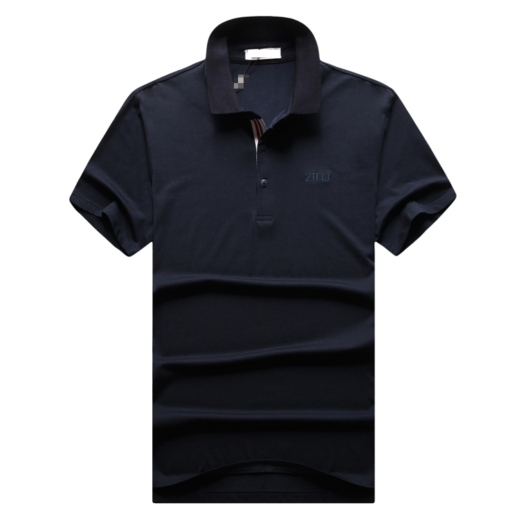 Billionaire polo shirt men 2019 new style Fashion casual zipper collar zipper cotton spartan designed high quality free shipping