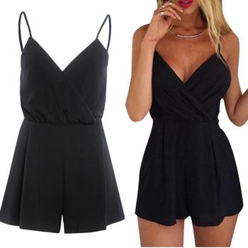 summer fashion Women romper Sexy Playsuit Bodycon Party Jumpsuit Romper Trousers Clubwear clothes mono verano mujer 2020#L35 1