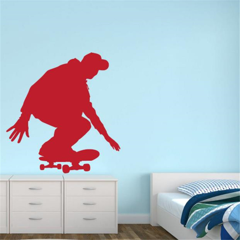 Online Get Cheap Custom Skateboard Stickers Aliexpresscom - Custom vinyl wall decal equipment