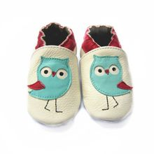 Owl design first walkers shoes soft sole baby shoes for boys(China)