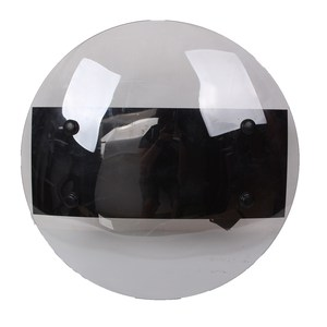 Safurance Transparent PC Hand-held Shield Anti- Riot Shield For Security Protection Self Protect(China)