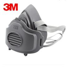 3M 3200+10pc3701CN Filter cotton Half Face GAS Mask Respirator Safety Protective Face Mask Anti Dust Anti Organic Vapors