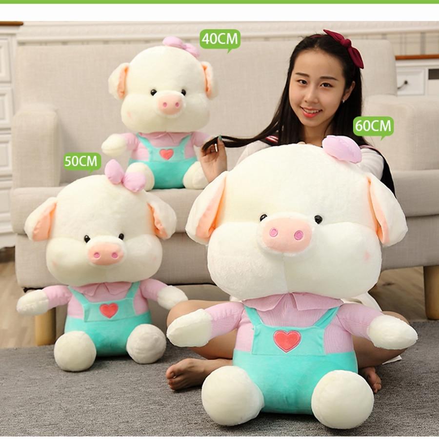 9cf167b0f8c7 Pink Pig Stuffed Animal Plush Toy For Baby Girls Gifts Birthday ...