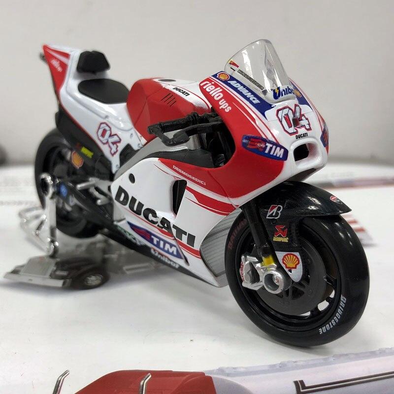 MAISTO 1/18 Scale Ducati Desmosedici Racing Motorbike Diecast Metal ...