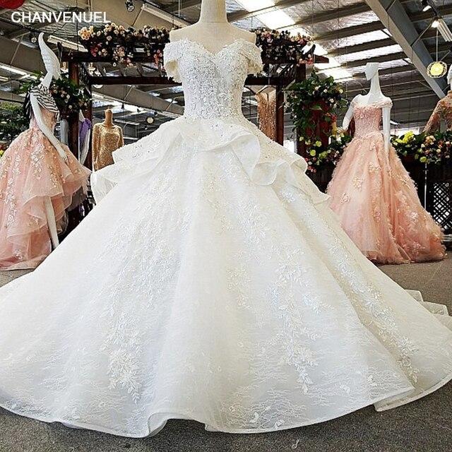 Us 278 99 50 Off Ls00365 Renda Mewah Pernikahan Gaun Seksi Elegan Murah Hati Petty Gaun 2017 Vestidos De Noiva Pengantin Gaun Gelinlik Pengiriman