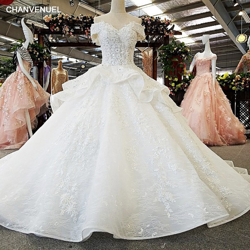 LS00365 lace up luxury wedding dress sexy elegant generous ever petty gowns 2017 vestidos de noiva bridal dress gelinlik