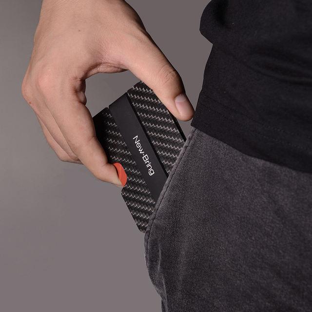 Slim Waterproof Carbon Fiber Credit Card