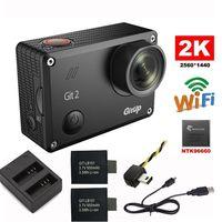 Free Shipping Gitup Git2 Novatek 96660 1080P WiFi 2K Outdoor Sports Action Camera Extra 950mAh Battery