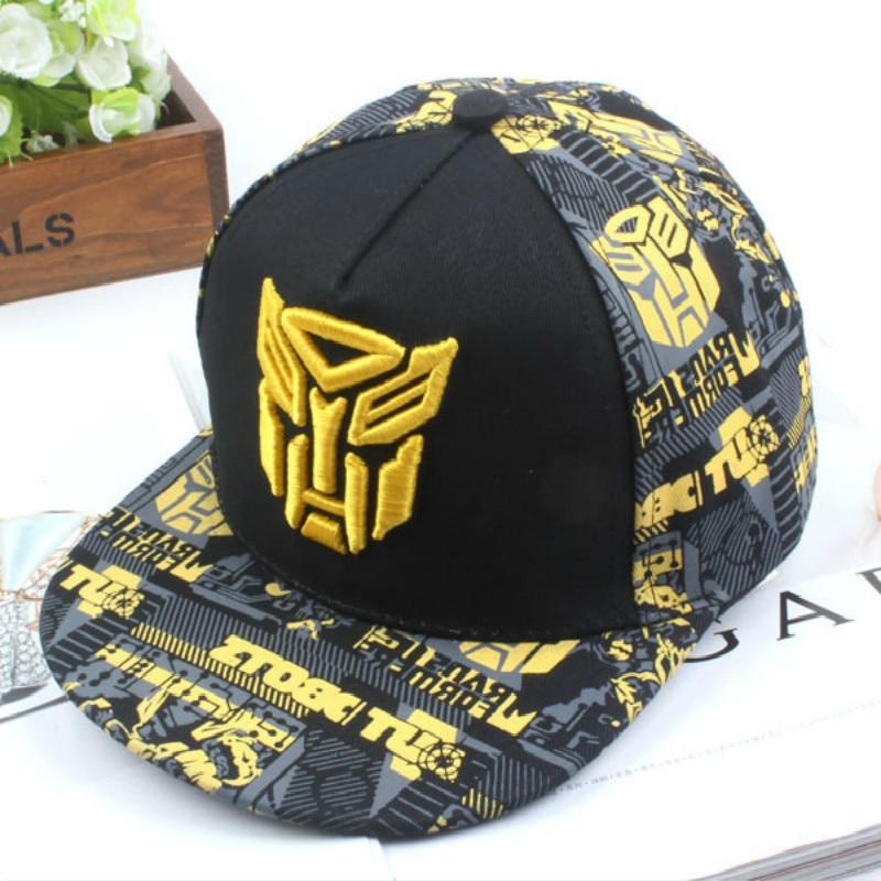 2019 New Embroidery Transformer Cap Super Hero Baseball Caps Kids Hats Boy Girls Hip Hop Hat K-pop Hats Snapback Caps La Cap