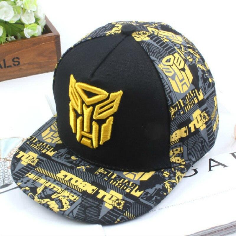 2019 nouvelle casquette de transformateur de broderie Super-héros casquettes de Baseball enfants chapeaux garçon filles Hip Hop chapeau K-pop chapeaux Snapback casquettes La casquette